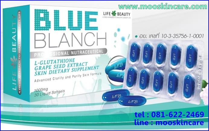 blue blanch