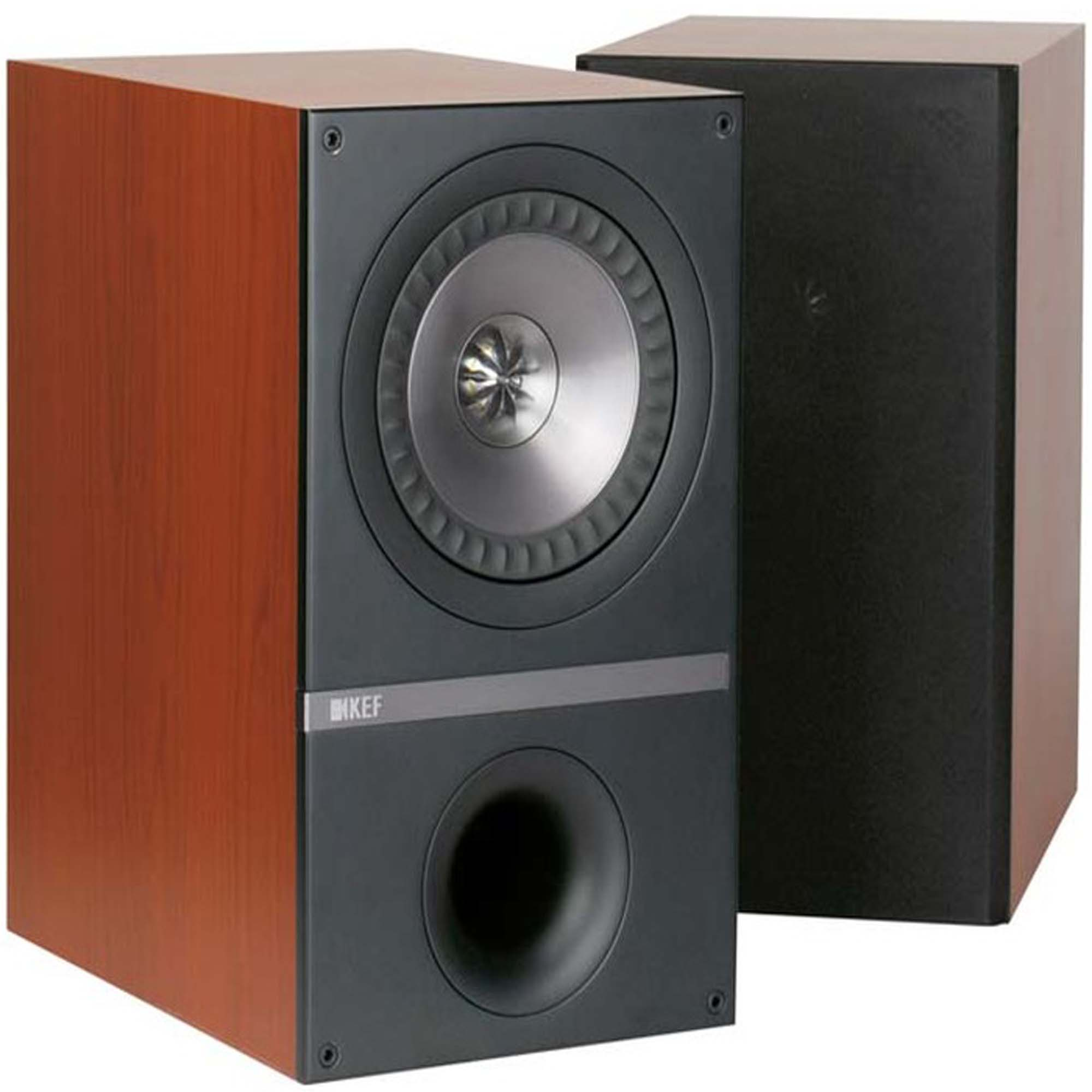 Kef Q300 Bookshelf Speakers (rosewood)