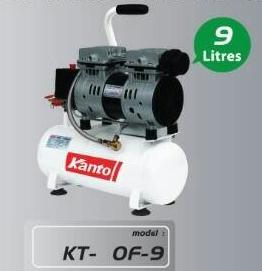 ปั๊มลม OIL FREE KANTO รุ่น KT-OF-9