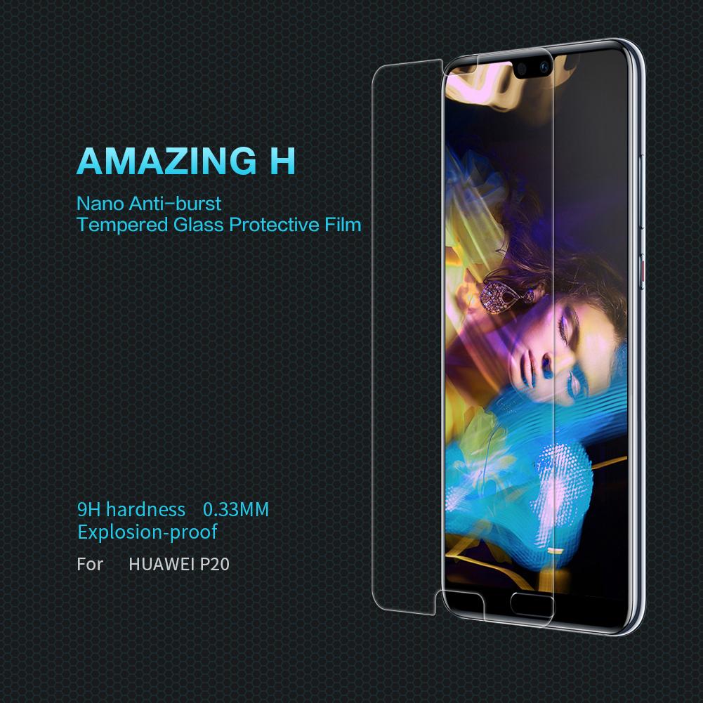 ฟิล์มกระจกนิรภัย Huawei P20