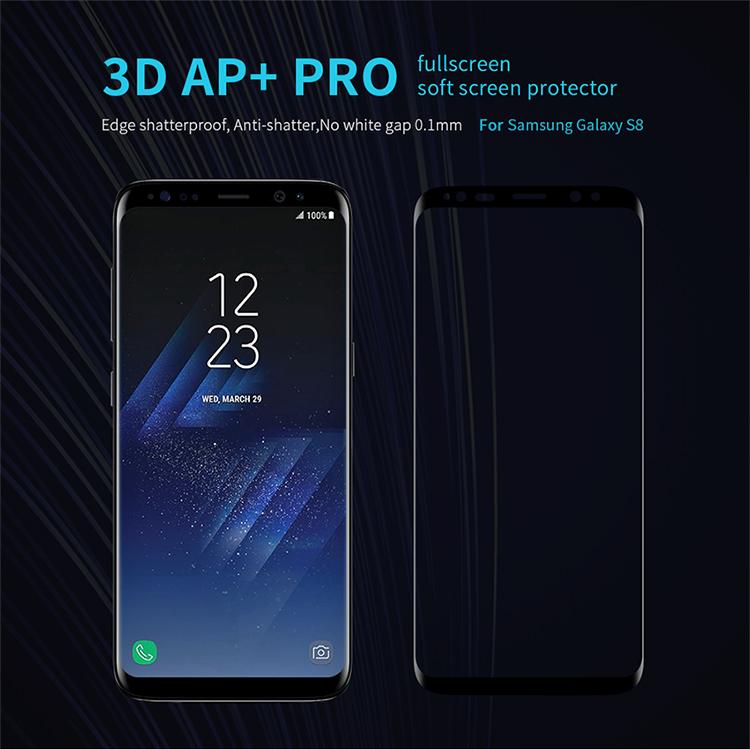 ฟิล์มกันรอยเต็มจอ Samsung Galaxy S8