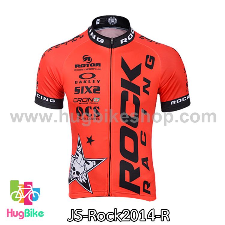 เสื้อจักรยานแขนสั้นทีม Rock Racing 2014 สีแดง สั่งจอง (Pre-order)