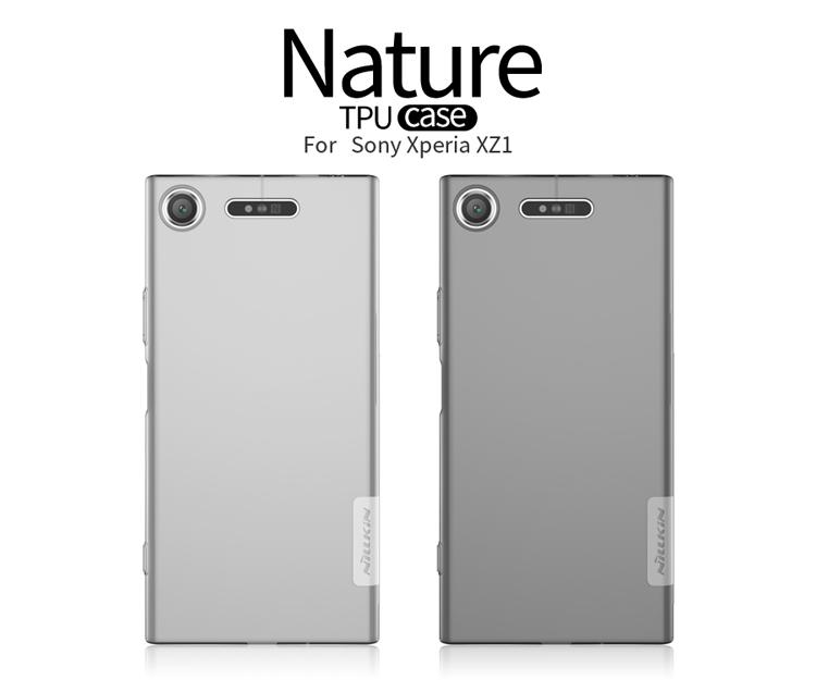 เคสมือถือ Sony Xperia XZ1 รุ่น Nature TPU case
