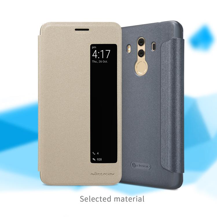 เคสมือถือ Huawei Mate 10 Pro รุ่น Sparkle Leather Case
