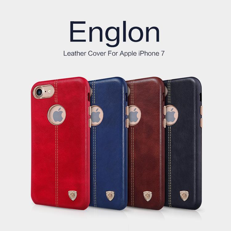 เคสมือถือ Apple iPhone 7 รุ่น Englon Leather Case