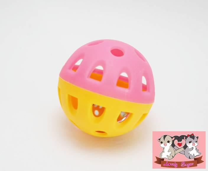ลูกบอลกระดิ่ง(คละสี)