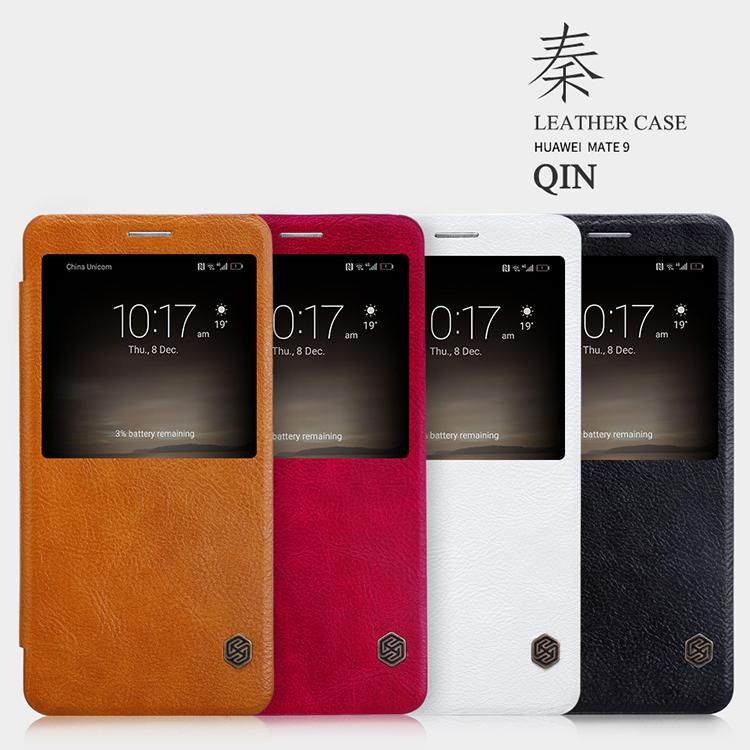 เคสมือถือ Huawei Mate 9 รุ่น Qin Leather Case