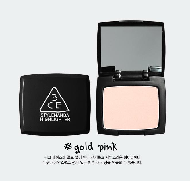3CE Highlighter [ Gold Pink ]
