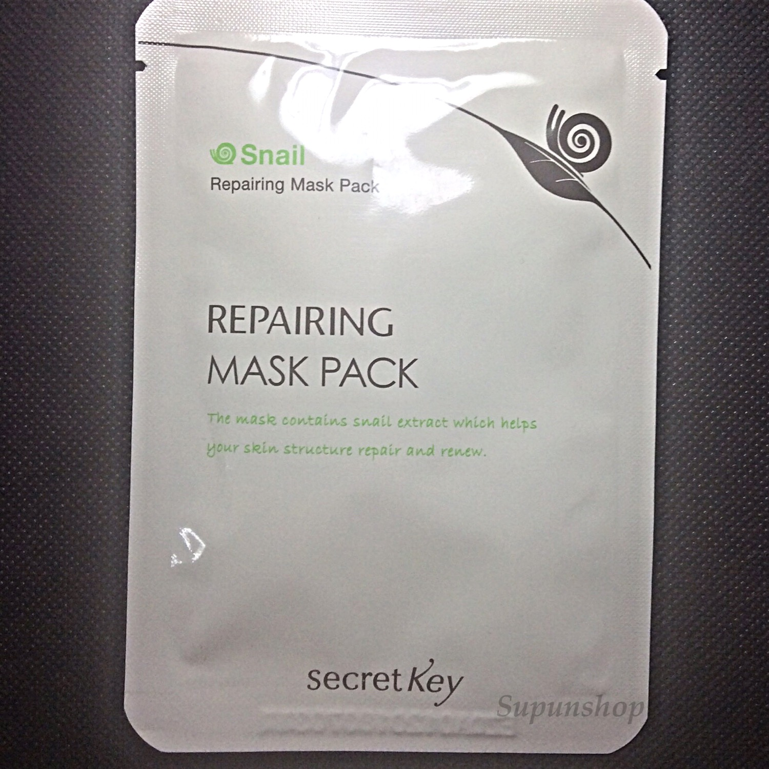 ++พร้อมส่ง++Secret Key Snail+EGF Repairing Mask Pack 20g