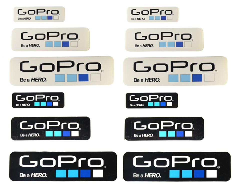 สติ๊กเกอร์ GoPro