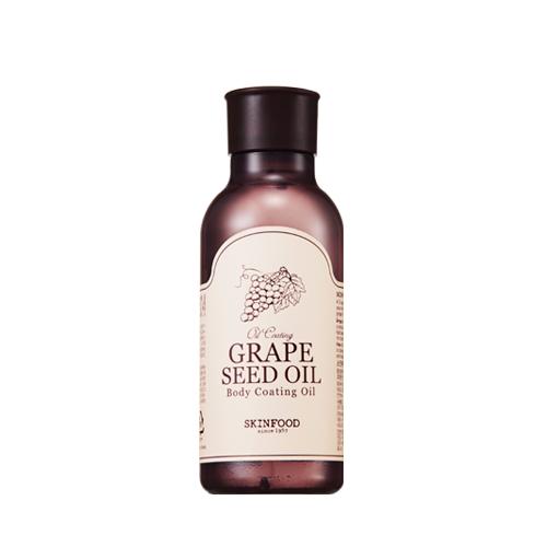 ++พร้อมส่ง++Skinfood Grape seed Oil Body Coating Oil 180ml น้ำมันบำรุงผิวจากสารสกัดเม็ดองุ่น หลังอาบน้ำ