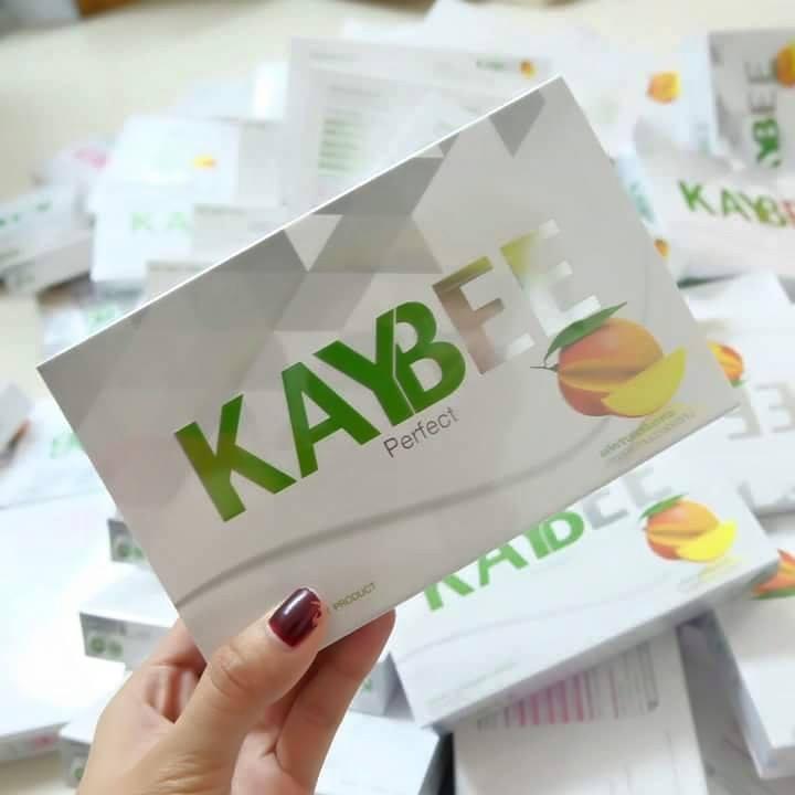 "Kaybee Perfect (เคบี เพอร์เฟค) 2 กล่อง แถมฟรี 1 กล่องเล็ก ""หุ่นฟิต ชีวิตเปลี่ยน"""