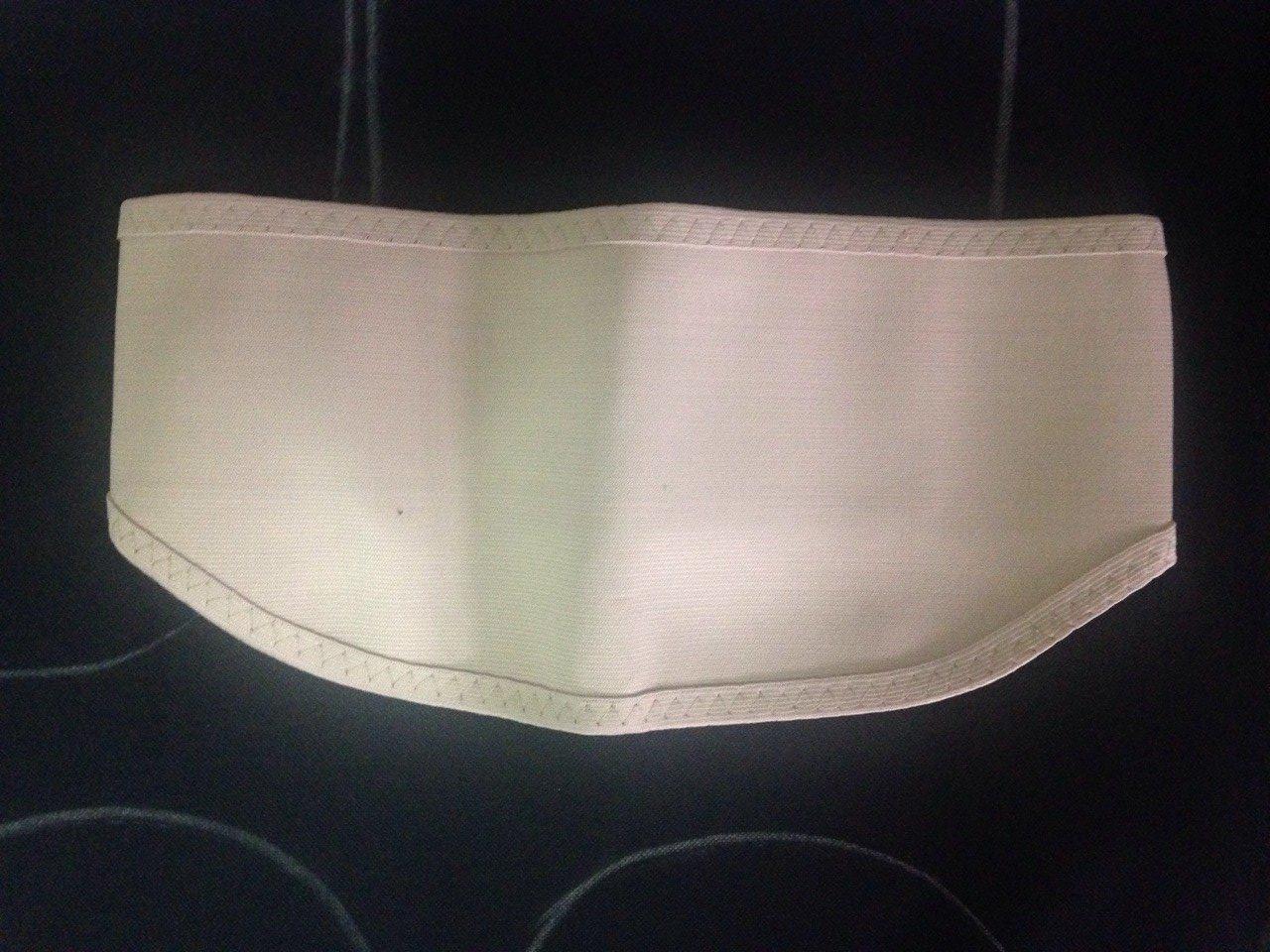 Rib Belt สีครีม Size L (30-36 นิ้ว)
