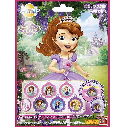 พร้อมส่ง ** Disney Sofia the First Bath Ball ลูกบอลกลิ่นหอม ใช้โยนลงอ่างอาบน้ำเพื่อให้อ่างอาบน้ำมีกลิ่นอโรม่าหอมๆ เมื่อละลายหมดแล้วจะมีตัวการ์ตูนรูปเจ้าหญิงโซเฟียออกมา มีทั้งหมด 6 แบบ (สินค้าเป็นแบบสุ่ม) ให้คุณหนูๆ ได้สนุกสนานกับการอาบน้ำ