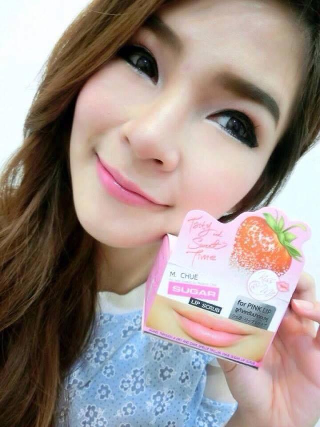 M.Chue Kiss Me Sugar Lip Scrub สครับปากชมพู มาดามจู