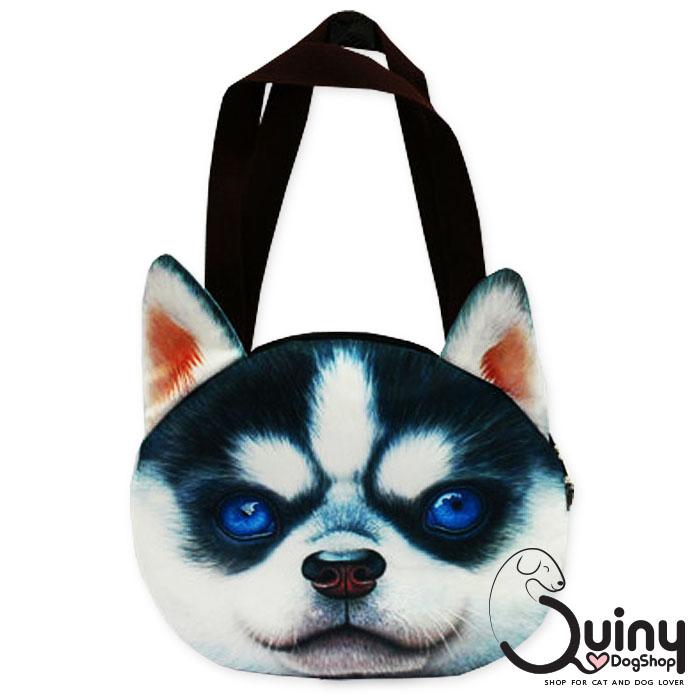 กระเป๋าหน้าหมา ไซบีเรียนฮัสกี้