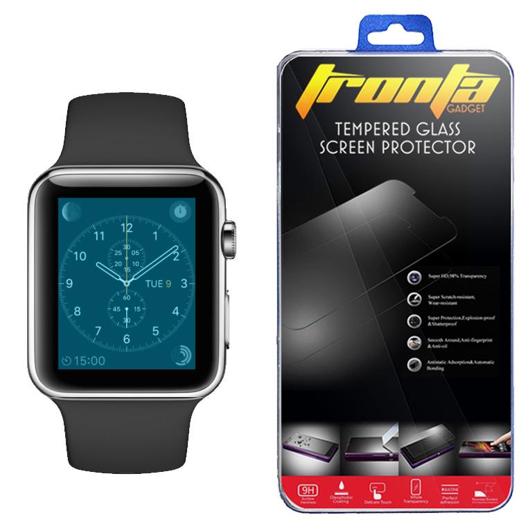 ฟิล์มกระจกนิรภัย Apple Watch (38 MM.) บาง 0.26MM. 2.5D