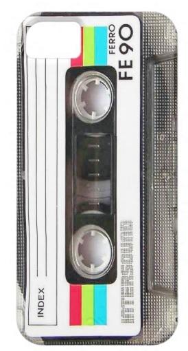 เคสมือถือ IPhone 5,5s เทปคลาสเซ็ท Tape Cassette แบบที่2