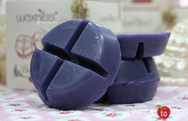 Hard wax กลิ่นลาเวนเดอร์ (แว๊กซ์ร้อน เซ็ตตัวเอง) แบรนด์ WAXKISS แบบก้อน ขนาด 200 กรัม