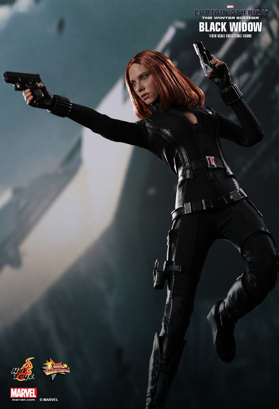 HOT TOYS MMS239 Captain America: The Winter Soldier - Black Widow