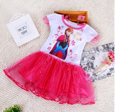 Pre-order ชุดเอลซ่า / Size 120 / Pink