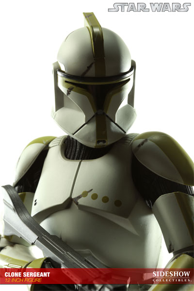 SIDESHOW STAR WARS - Militaries Or Star Wars: CLONE SERGEANT phase | armor