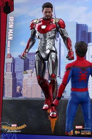 Hot Toys MMS427D19 SPIDER-MAN: HOMECOMING - IRON MAN MARK XLVII
