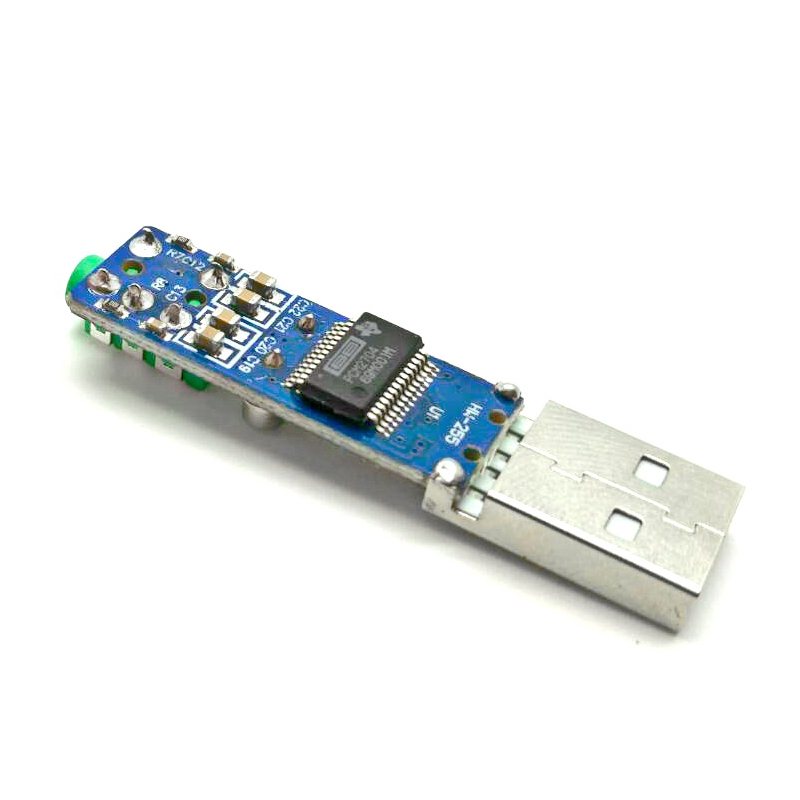 ขาย x-tips USB DAC เล็กจิ๋วหลิว ใช้ TI PCM2704