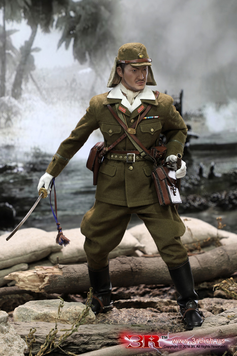 3R JP639 WWII Imperial Japanese Army 32ND ARMY 24TH DIVISION - FIRST LIEUTENANT SACHIO ETO