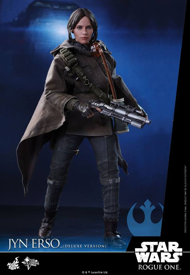 Hot Toys MMS405 ROGUE ONE: A STAR WARS STORY - JYN ERSO (DELUXE VERSION)