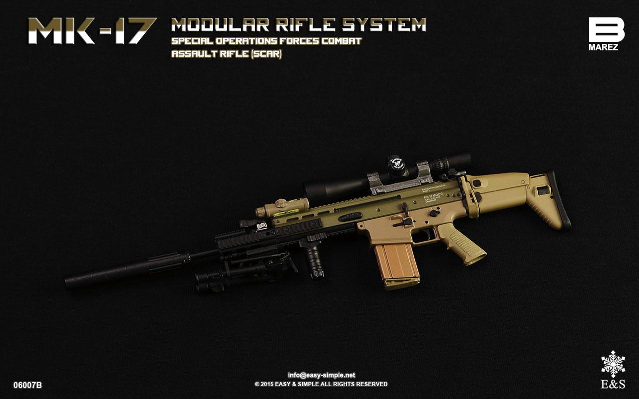 Easy & Simple 06007B MK-17 MODULAR RIFLE SYSTEM