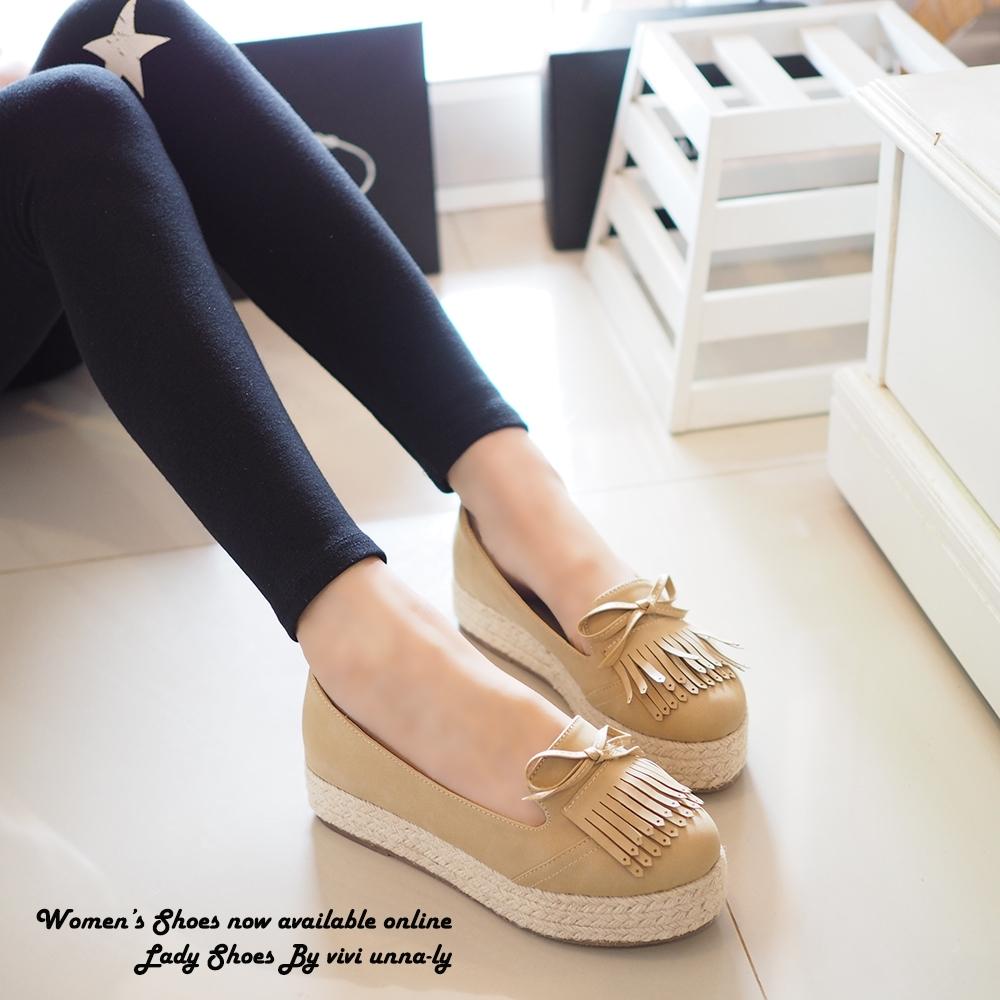พร้อมส่ง : รองเท้า Moccasin เสริมส้น