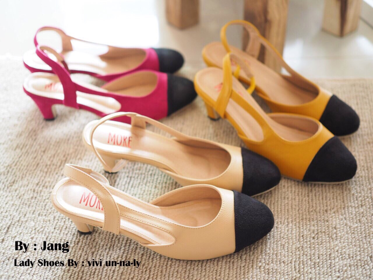 รองเท้า Chanel Sling Back Classic Shoes (มี3สี)
