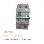 Beaker แบบ MCB_S-DC ขนาด 32A 550V 2P