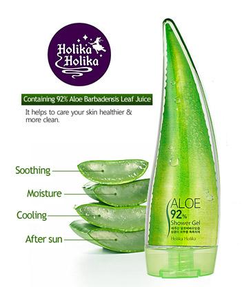 Holika Holika Aloe 99% Soothing Gel 250 ml. เจลบำรุงผิวหน้าและร่างกาย แพคเกจน่าใช้มากๆช่วยเพิ่มความชุ่มชื้นกระจ่างใสให้ผิวด้วยว่านหางจระเข้บริสุทธิ์ถึง 99 % โดยคุณสมบัติของว่านหางจระเข้นั้น มีแร่ธาตุและวิตามินที่สามารถซึมลงสู่ผิวได้อย่างรวดเร็ว