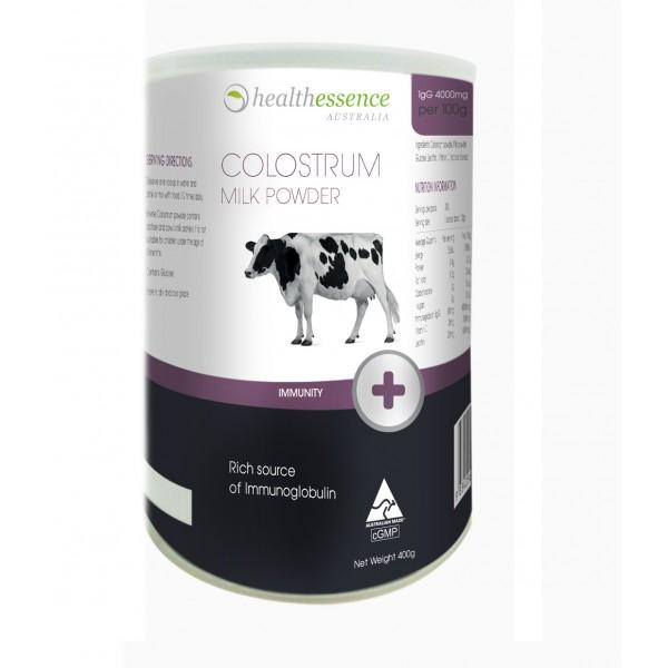 Health Essence Colostrum Milk Powder IgG 4000mg นมเพิ่มสูงแบบชง