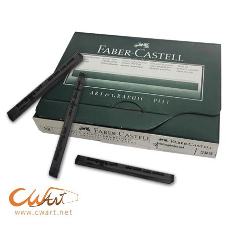 สีชอล์คแท่งFaber-Castell Pitt Artists Soft Chalks ยกกล่อง(12แท่ง)