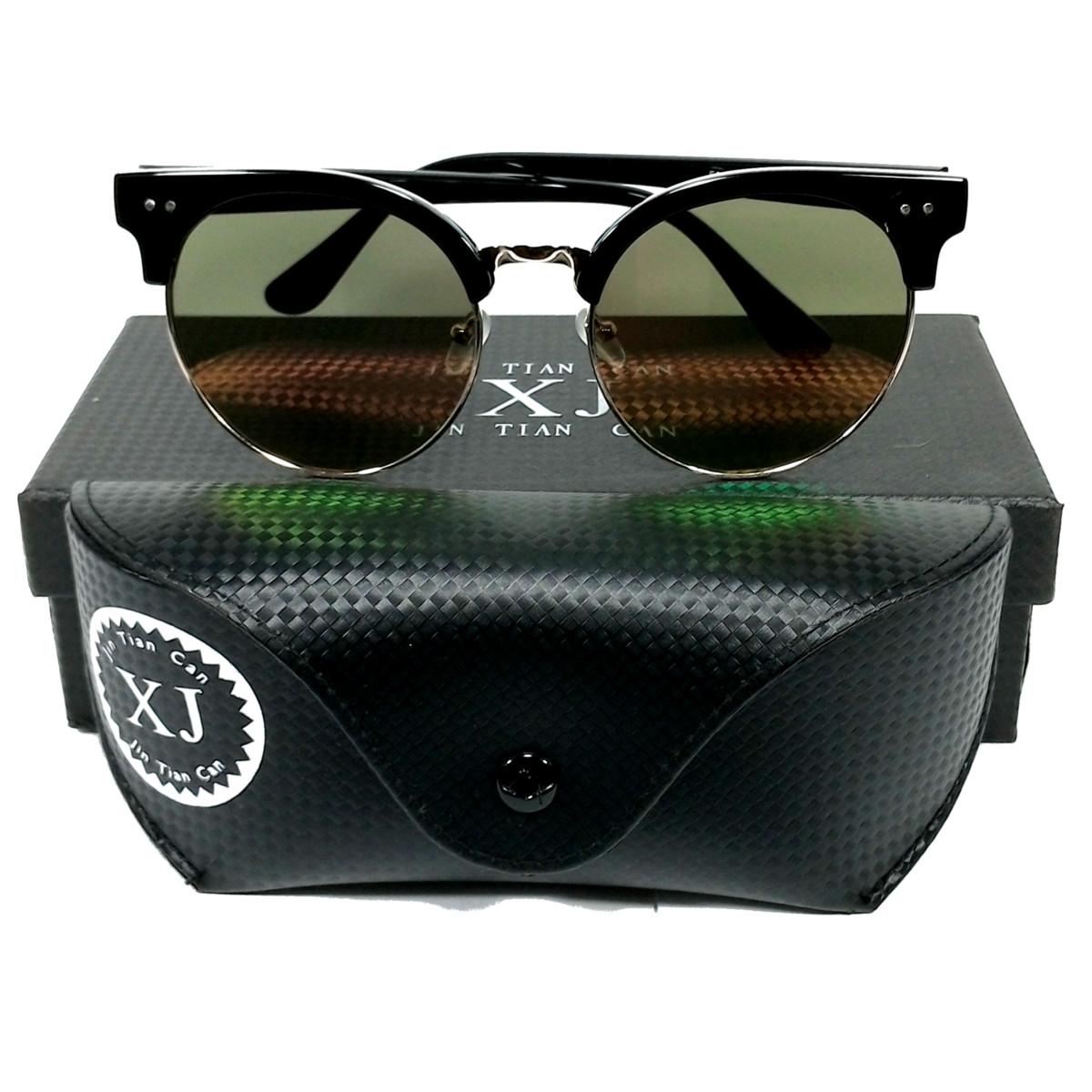 แว่นกันแดด แฟชั่น ทรง WF BLACK&BROWN