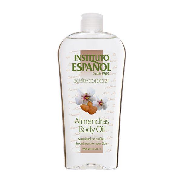 Instituto Espanol Anfora Almendras Body Oil 400 ml. (Almond Oil) บอดี้ออยล์บำรุงผิวจากน้ำมันอัลมอนด์ เสริมสร้างเซลล์ที่สึกหรอของผิวหนัง เส้นผม ทั้งยังช่วยชะลอริ้วรอยก่อนวัยคืนความชุ่มชื่น และเนียนนุ่มให้กับผิว ช่วยบำรุงเส้นผลและหนังศีรษะ เพิ่มการไหลเวียนข