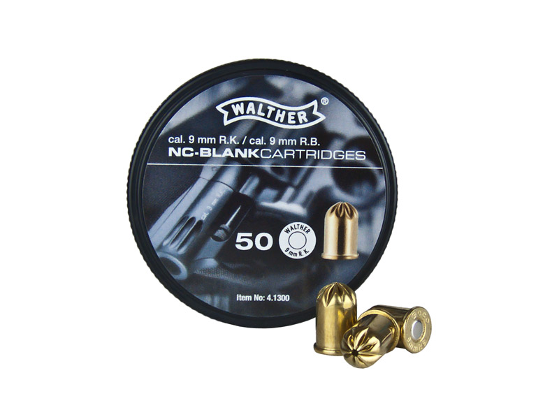 Walther 9mmRK 50Rds