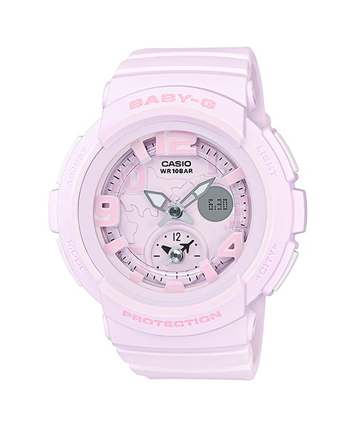 Casio Baby-G Beach Traveler Bold Color series รุ่น BGA-190BC-4B
