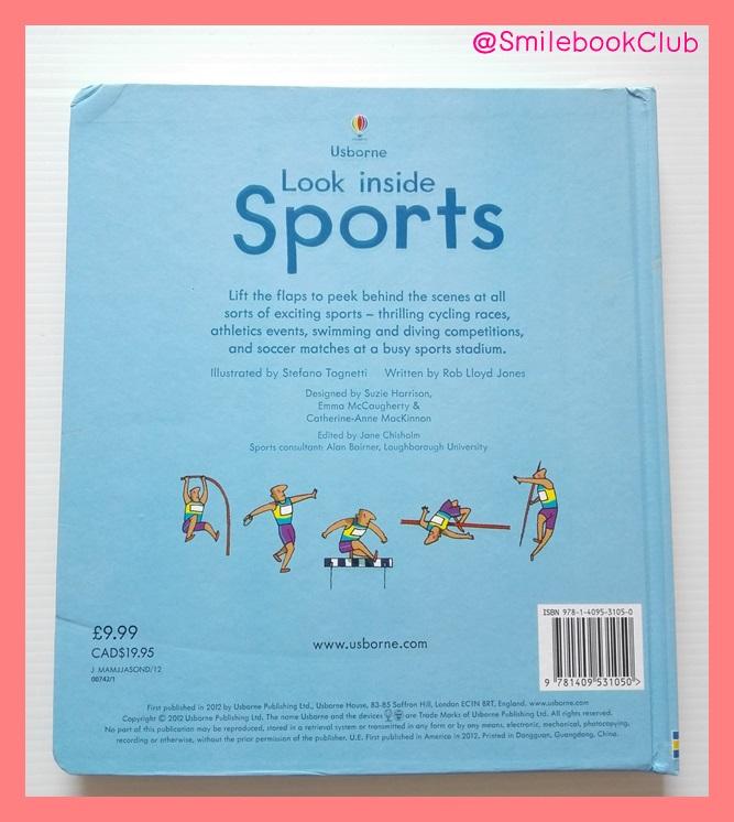 Usborne : Look Inside Sports