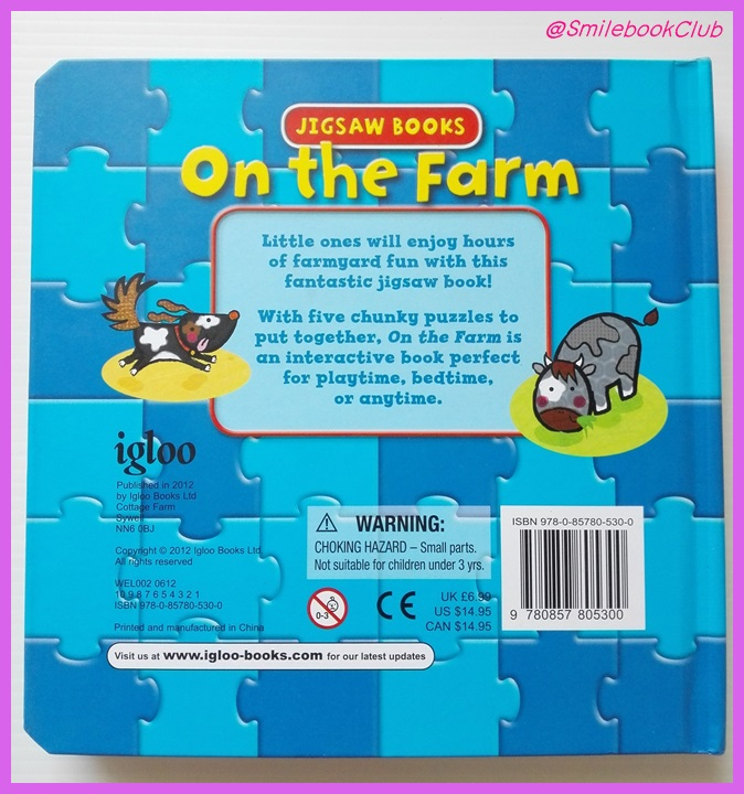 Jigsaw Books - On the Farm