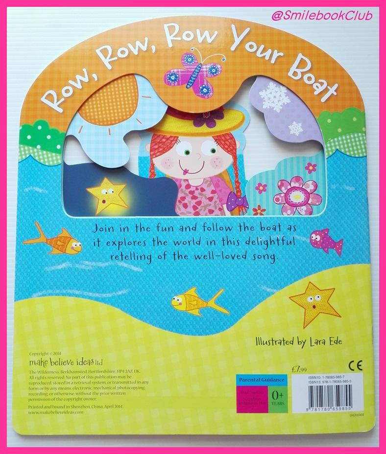 Row, Row, Row Your Boat : Busy Window