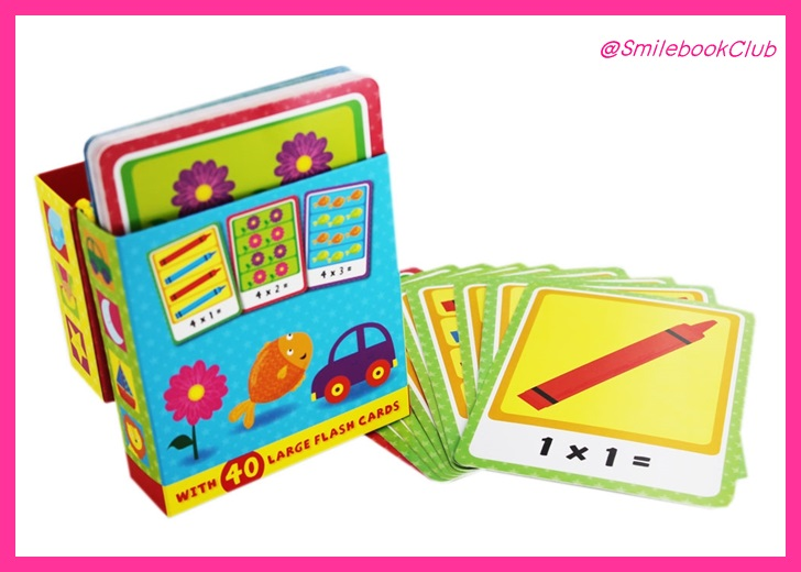 Tiny Tots Flash Cards - Times Tables