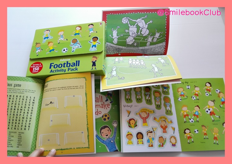 Usborne Football : Activity Pack