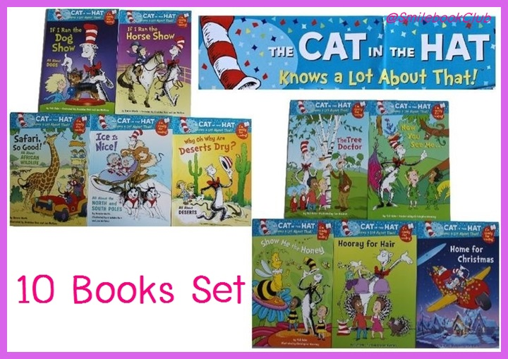 The CAT in the HAT - set 10 books