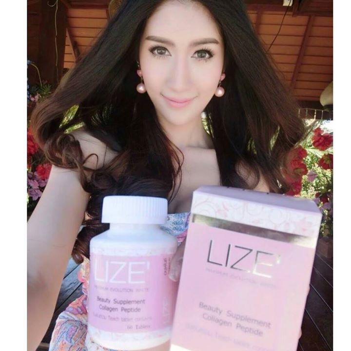 LIZE' อนุพันธ์วิตามินรวม Beauty Supplement Collagen Peptide
