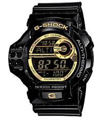 Casio G-Shock Black x Gold Watch รุ่น GDF-100GB-1DR