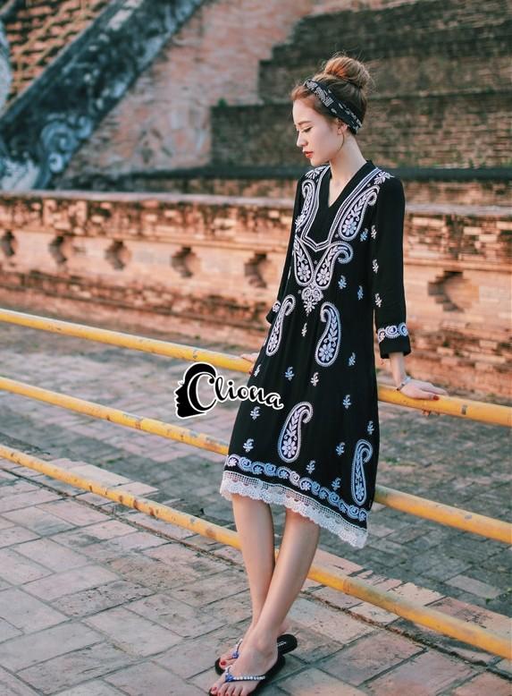 Cliona made' Lovely Thailand Journey Dress